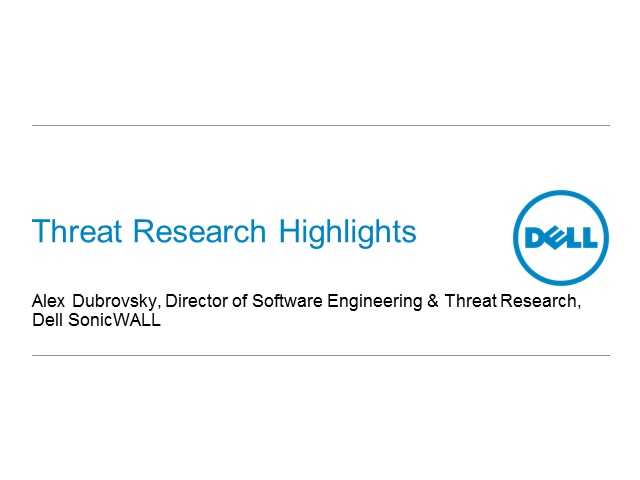 Latest threat research and how it affects your business