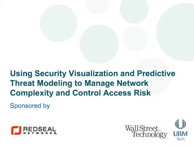 Manage Network Complexity and Control Access Risk