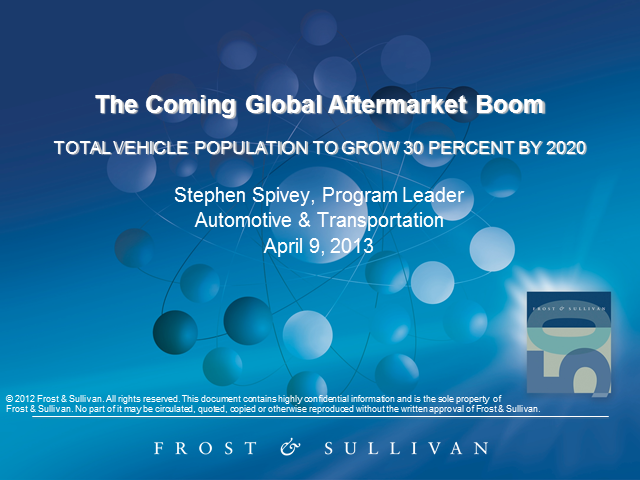 The Coming Global Aftermarket Boom
