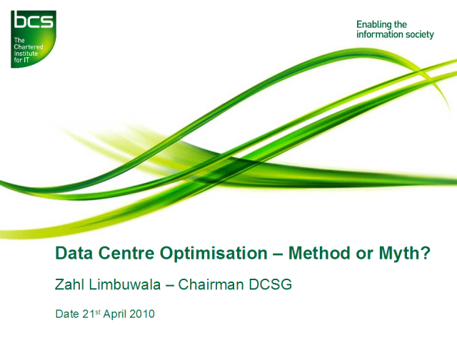 Data Centre Optimisation – Method or Myth?