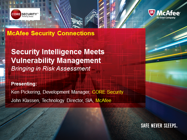 Security Intelligence Meets Vulnerability Management
