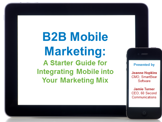 10 Step Go Mobile! B2B Starter Guide