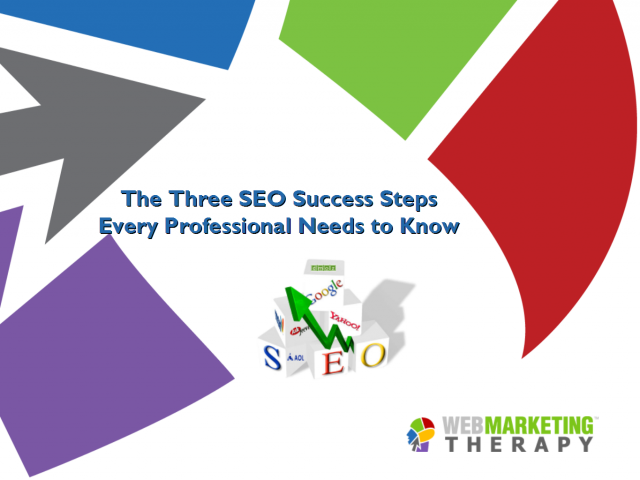 The Three SEO Suceess Steps Every Business Person Needs to Know