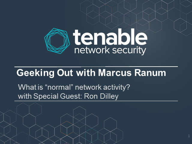 Geeking Out with Marcus Ranum - Take 2