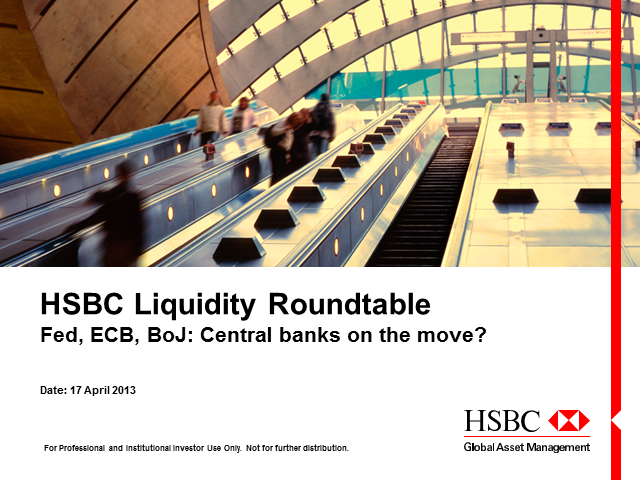 Liquidity Roundtable - Fed, ECB, BoJ: Central banks on the move?