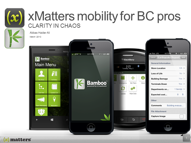 Why you need a mobile strategy for business continuity
