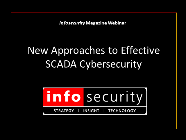 New approaches to effective SCADA cybersecurity