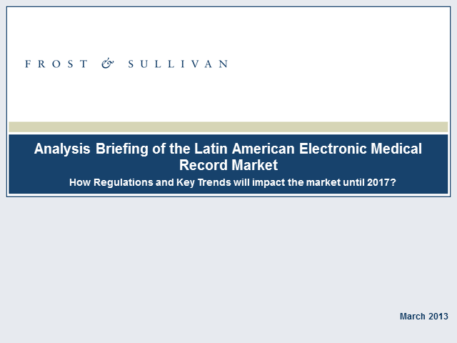 Latin American Electronic Medical Record Market Analysis