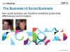 The Business of Social Business