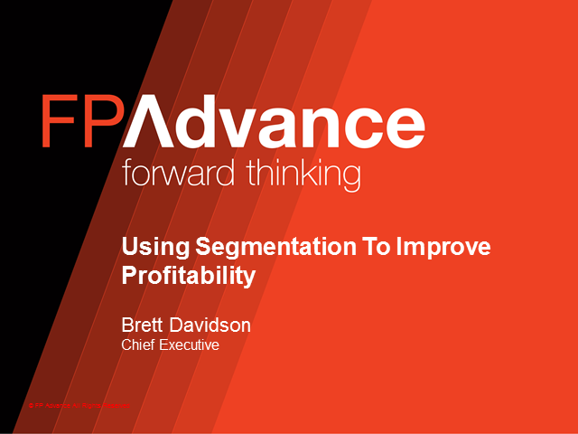 Using Segmentation To Improve Profitability