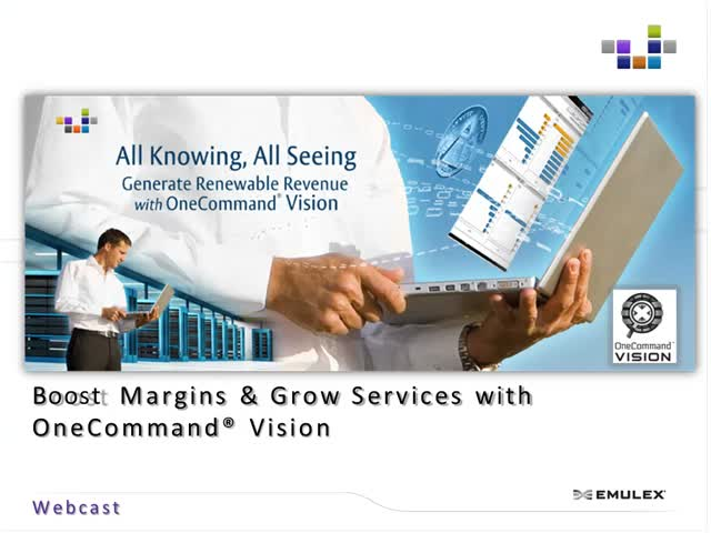 Boost Margins & Grow Services with OneCommand® Vision
