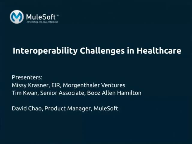 Interoperability Challenges in Healthcare