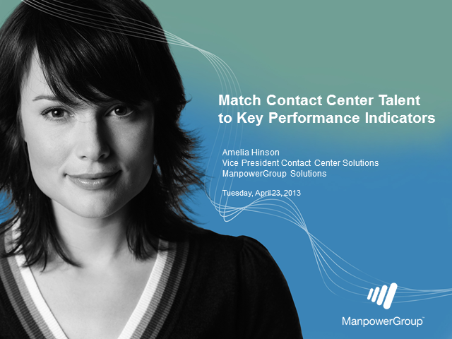 Match Contact Center Talent to Key Performance Indicators