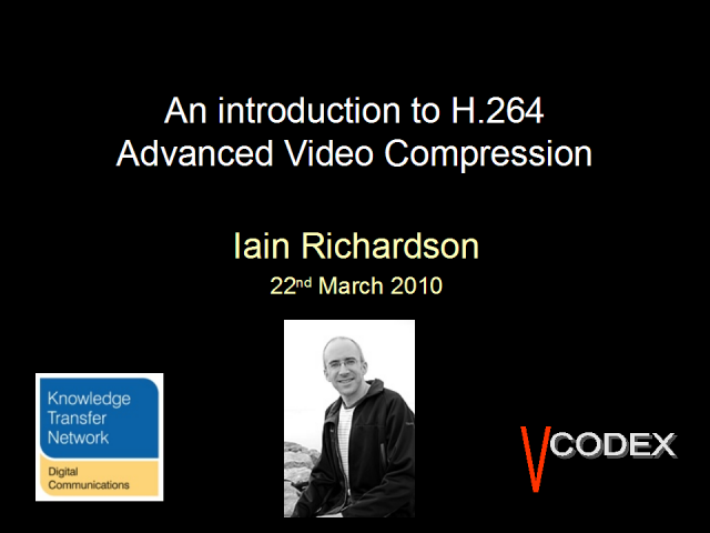 H. 264 Video coding tutorial