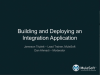 Building and deploying an integration application in 30 minutes