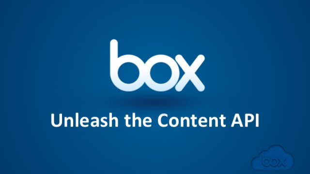 Box Platform - Unleash the Content API