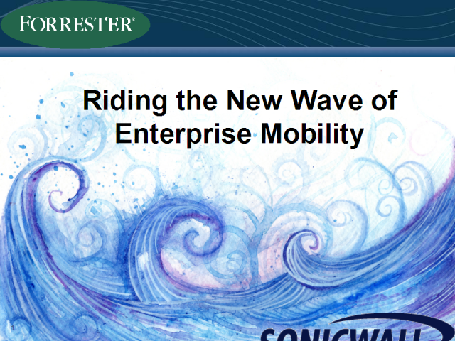 Riding the New Wave of Enterprise Mobility