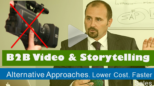 Alternatives to traditional video for B2B storytelling