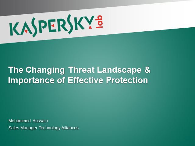 IT security trends: a changing threat landscape and effective protection