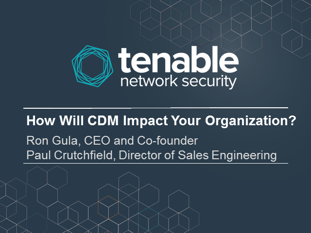 How Will CDM Impact Your Organization?