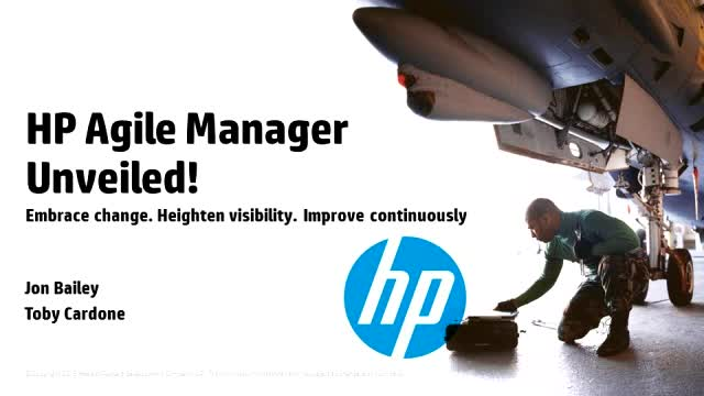 HP Agile Manager unveiled!