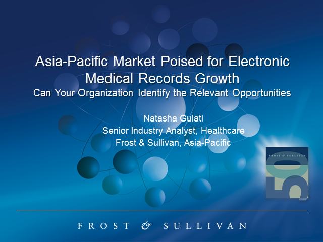 APAC Market Poised for Electronic Medical Record Growth