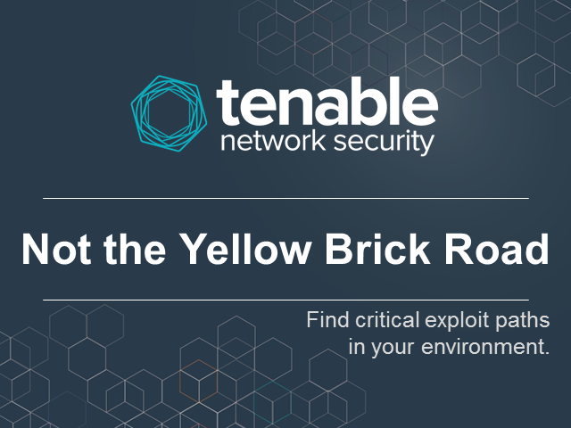 Not the Yellow Brick Road: Exploit Paths In Your Environment