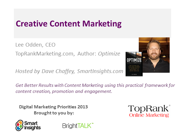 Get Better Results With Creative Content Marketing