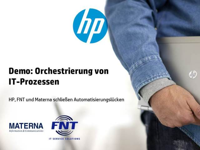 Demo On-Demand: Orchestrierung von IT-Prozessen