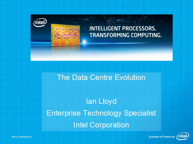 The Data Centre Evolution