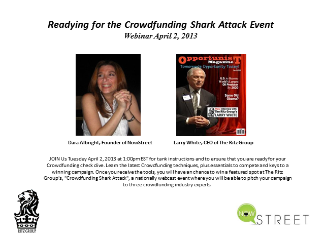 Crowdfunding Shark Attack Webinar