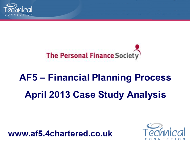 AF5 April 2013 Case Study Analysis Part 1