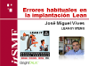 Errores habituales en la implantación Lean