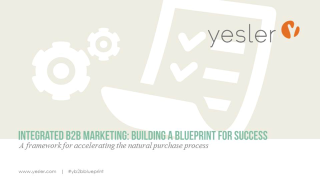 Integrated B2B Marketing: Building a Blueprint for Success
