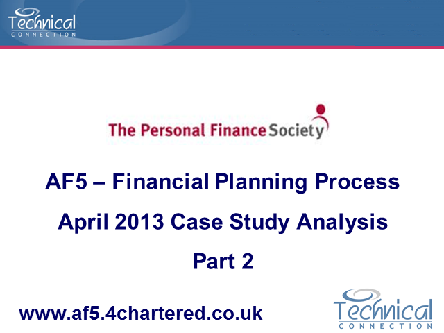 AF5 April 2013 Case Study Analysis Part 2