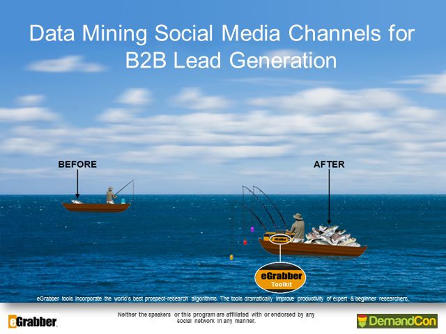 Data Mining Social Media Channels for BtoB Lead Generation