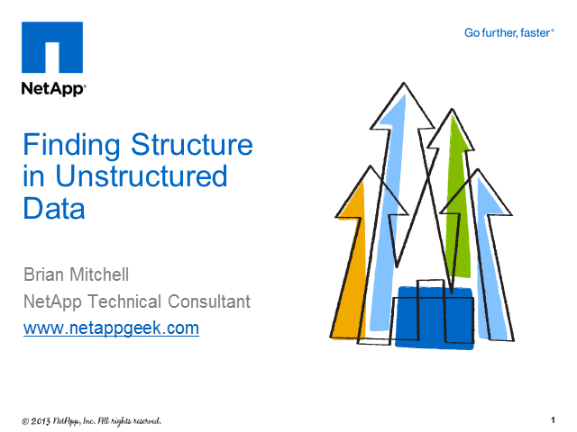 Finding Structure in Unstructured Data