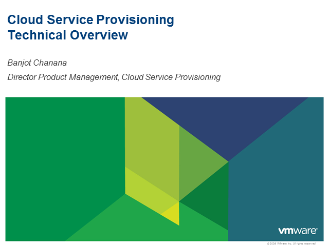 Cloud Service Provisioning: Key Capabilities