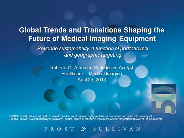 Global Trends and Transitions Shaping the Future of Medical Imaging Equipment