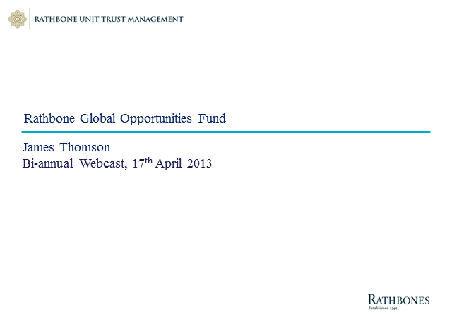 Rathbone Global Opportunities Fund
