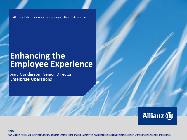 Enhancing the Employee Experience