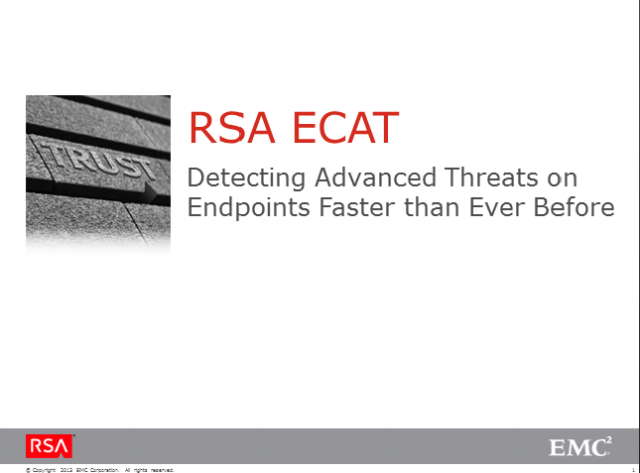 Detecting Advanced Threats on Endpoints Faster than Ever Before