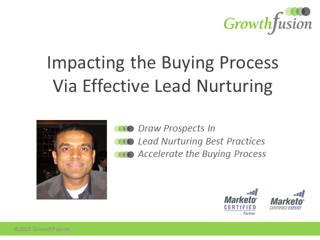 Impacting the Buying Process Via Effective Lead Nurturing