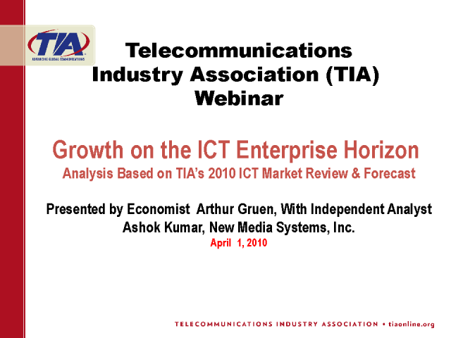 Growth on ICT Enterprise Horizon