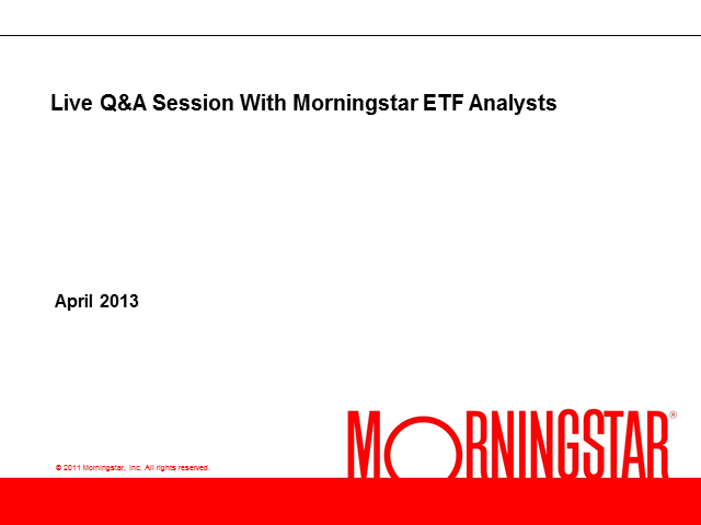 We Answer All Your ETF Questions.