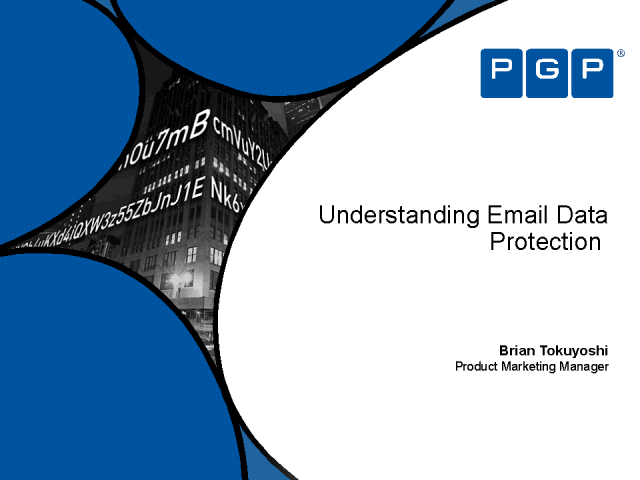 Understanding Email  Data Protection