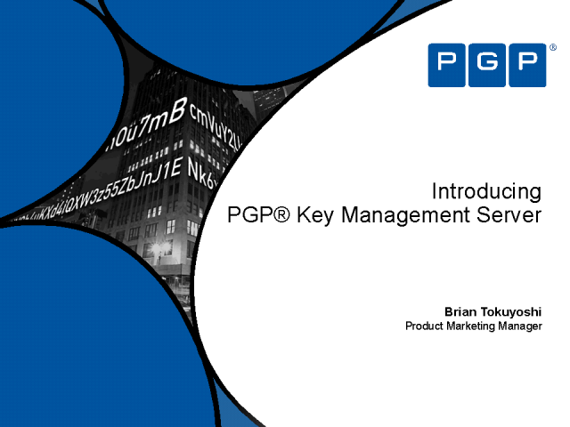 Introducing PGP Key Management Server