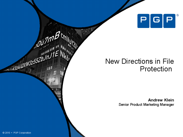 New Directions in File Protection