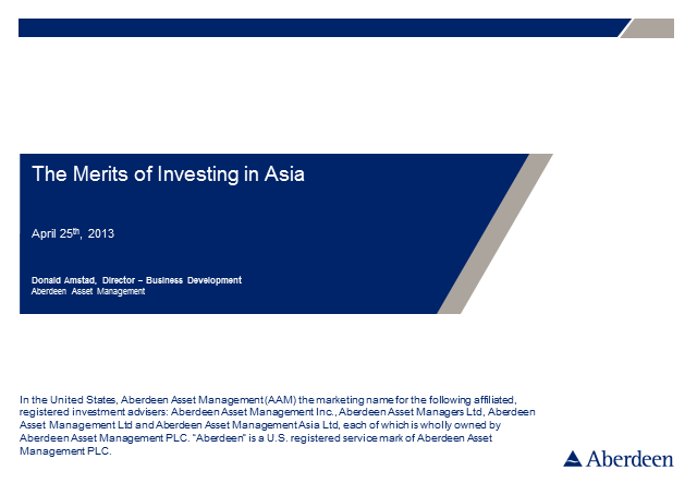 The Merits of Investing in Asia