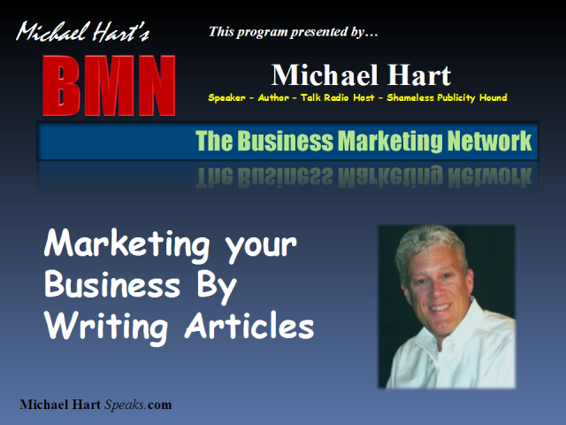 Market Your Business By Writing Articles